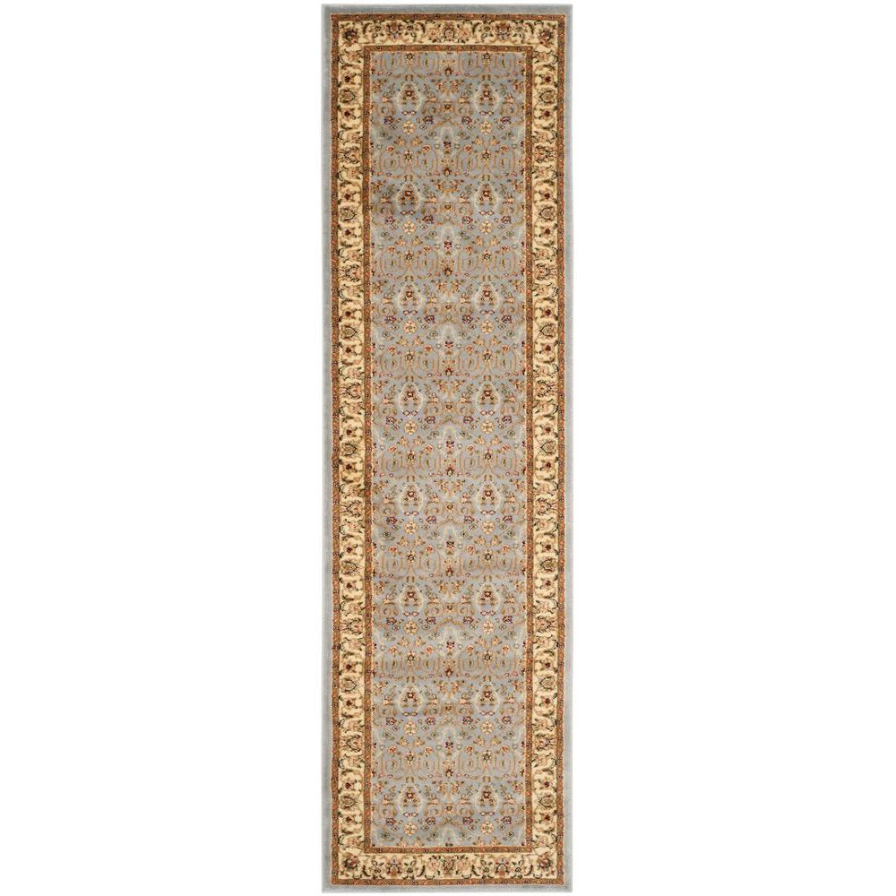 Safavieh Lyndhurst Light Blue/Ivory 2 ft. x 19 ft. Runner Rug