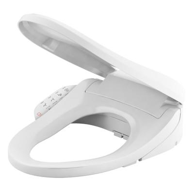 C3 155 Electric Bidet Seat for Cleansing Elongated Toilet in White