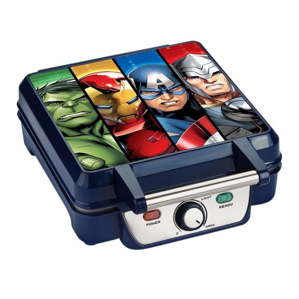 Marvel Avengers Waffle Maker, Multi-Colored
