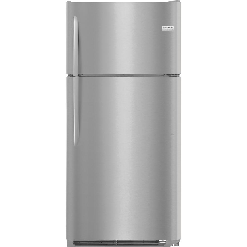 18.1 cu. ft. Top Freezer Refrigerator in Smudge Proof Stainless Steel