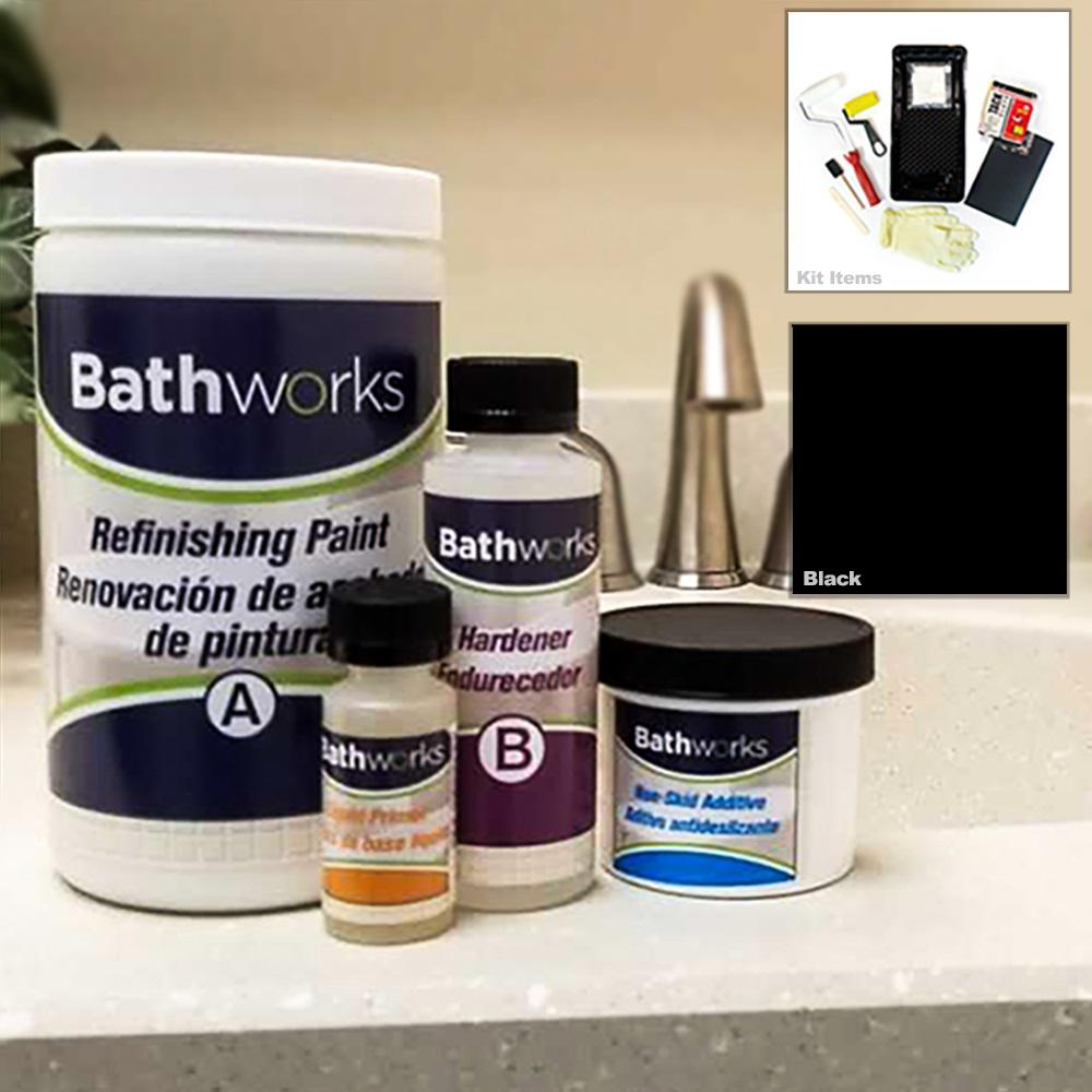Bathworks 22 Oz Diy Bathtub Refinishing Kit With Slip
