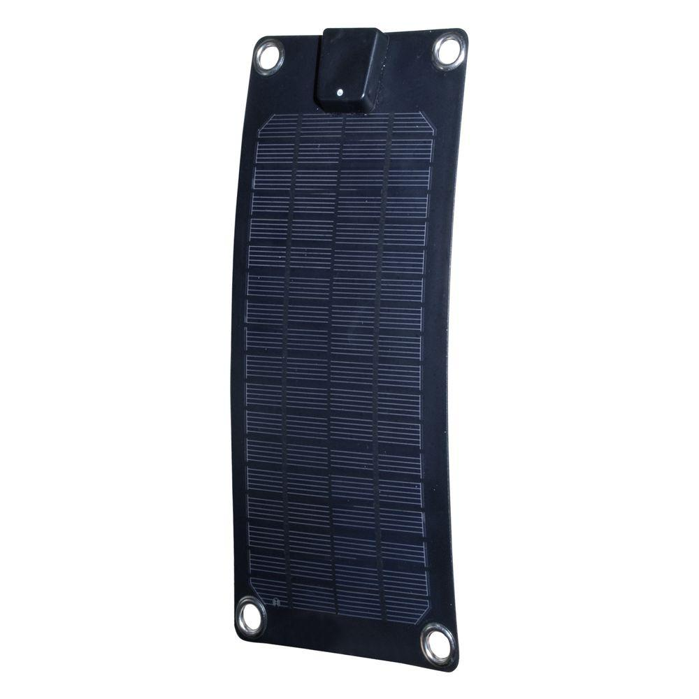 3-Watt Semi-Flex Monocrystalline Solar Panel Battery Trickle Charger
