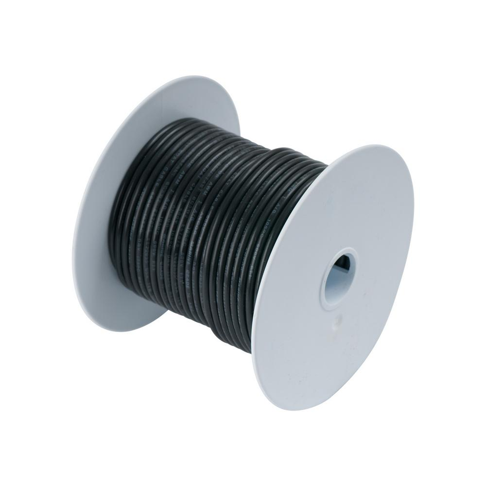 Southwire 50 ft. 12 Black Stranded CU THHN Wire-22964151 - The Home ...