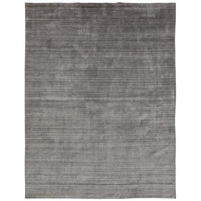 Meridian Grey Fog 9 ft. x 12 ft. Area Rug