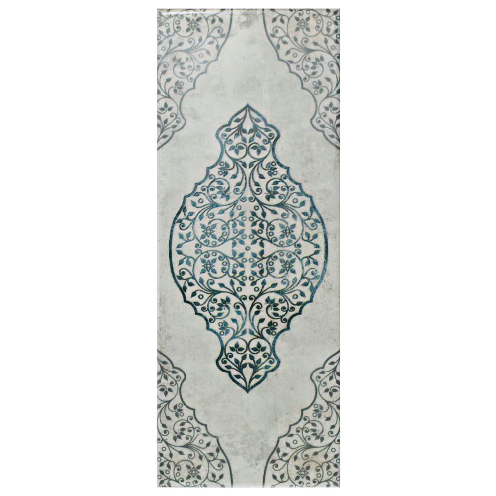 Forever Grafic White 5-7/8 in. x 15-3/4 in. Ceramic Wall Tile