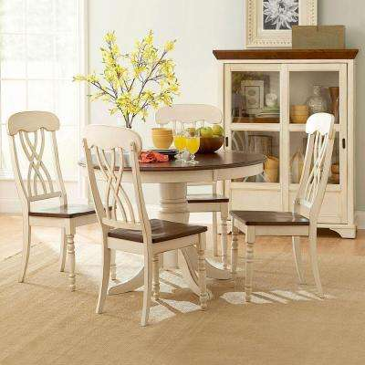 Anna Antique White Dining Table