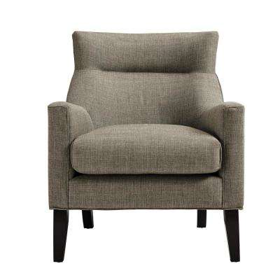 Gia Taupe Upholstered Accent Chair