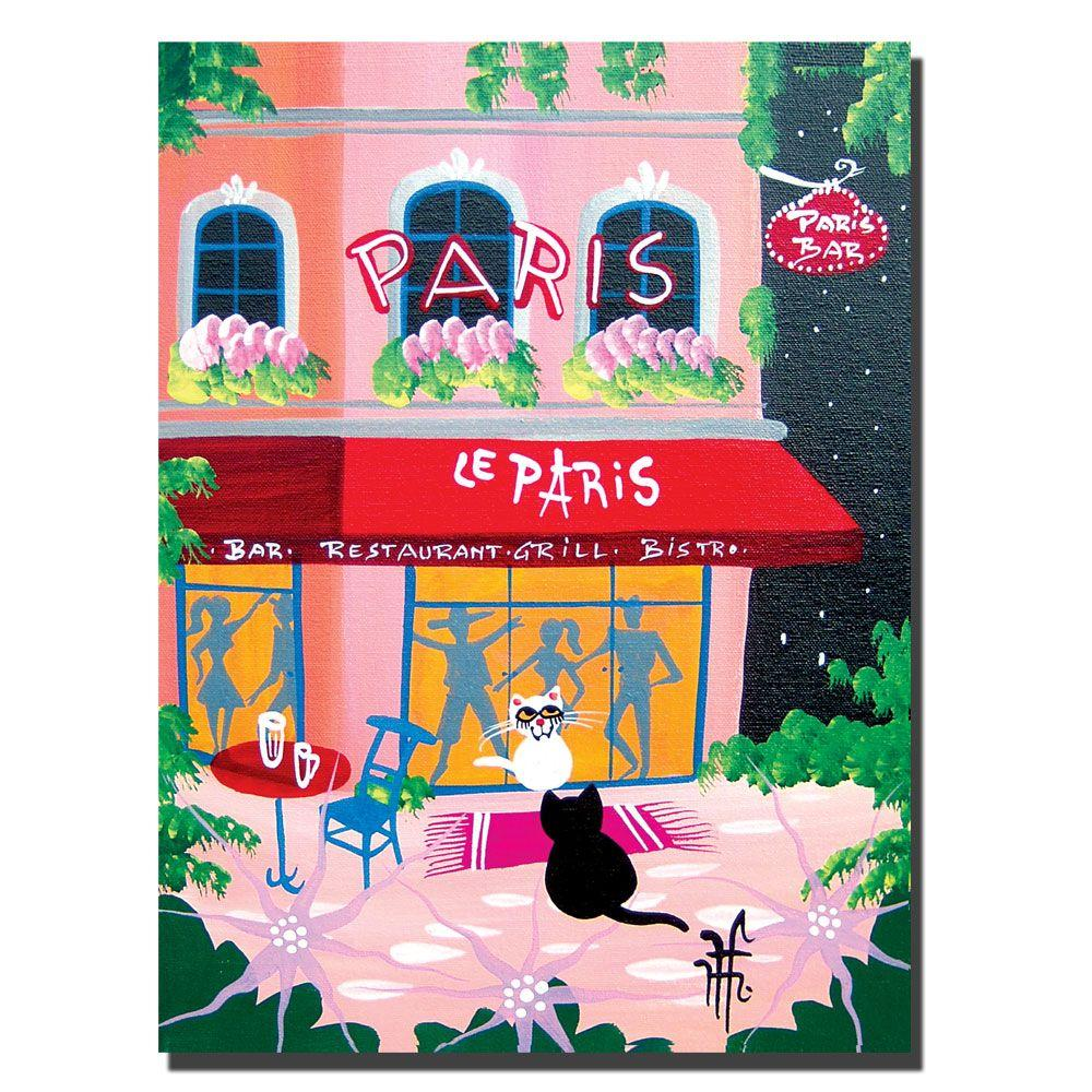 null 24 in. x 32 in. Le Paris Canvas Art