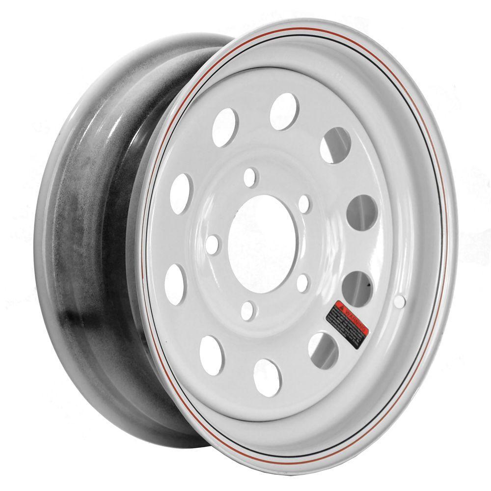 13x4.5 5-Hole 13 in. Steel Mod Trailer Wheel/Rim