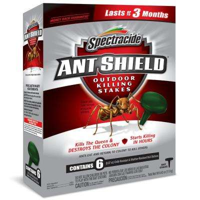 Ant Shield Outdoor Killing Stakes 6 Count