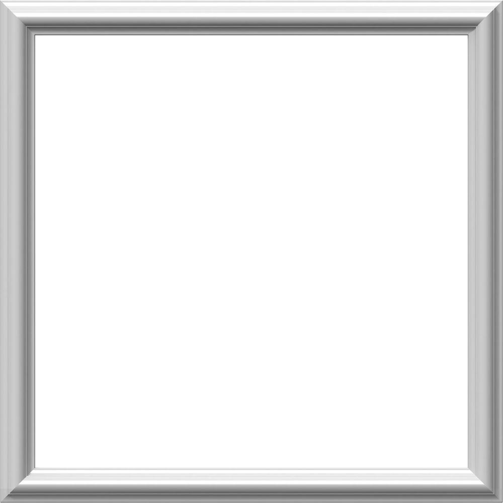 Ekena Millwork 24 in. W x 24 in. H x 1/2 in. P Ashford Molded Classic Wainscot Wall Panel