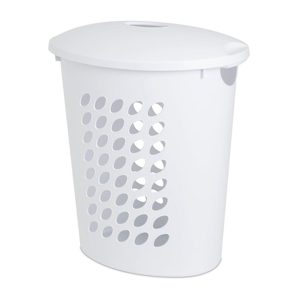 Sterilite Oval Laundry Hamper