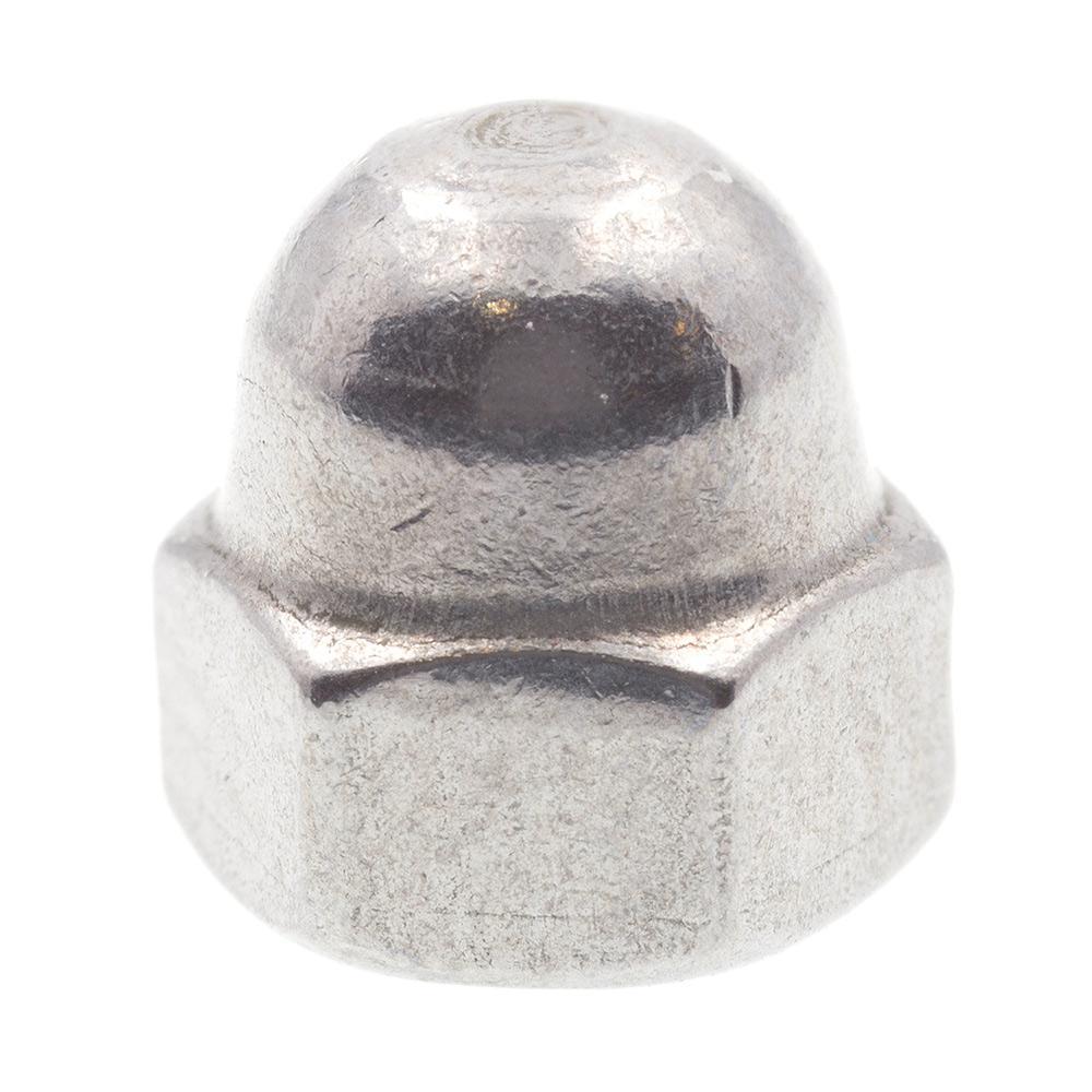 M3-0.50 Grade A2-70 Metric Stainless Steel Acorn Cap Nuts (10-Pack)