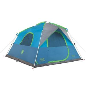 6-Person Instant Tent. Coleman ...  sc 1 st  The Home Depot & Coleman Evanston 6-Person Screened Modified Dome Tent-2000007825 ...