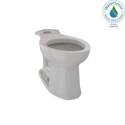 Entrada Elongated Toilet Bowl Only in Sedona Beige