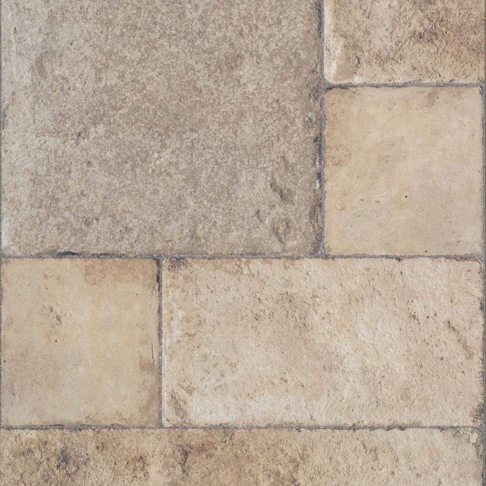 Innovations tuscan stone sand 8 mm thick x 15 1 2 in wide for Square laminate floor tiles