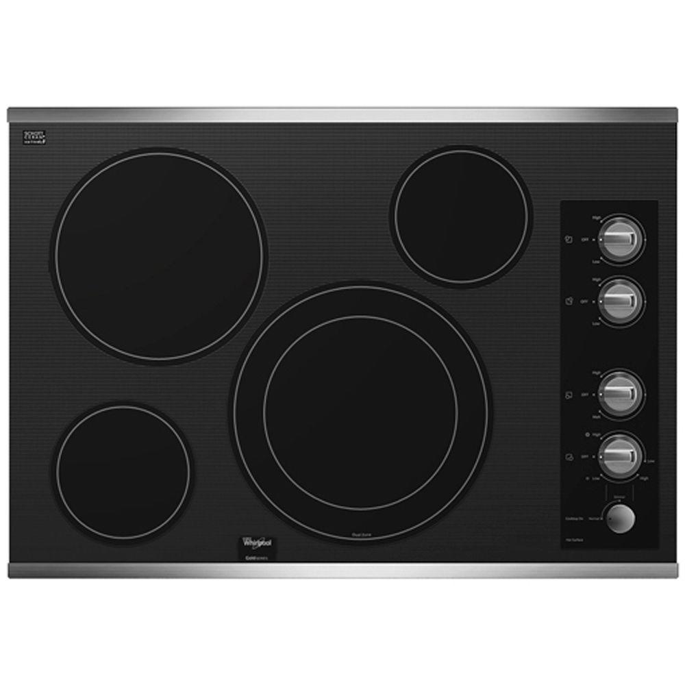 Electric Cooktop Elements ~ Whirlpool gold in radiant electric cooktop