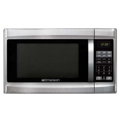 Compare 1 3 Cu Ft 1000 Watt Countertop Stainless Steel Microwave Oven
