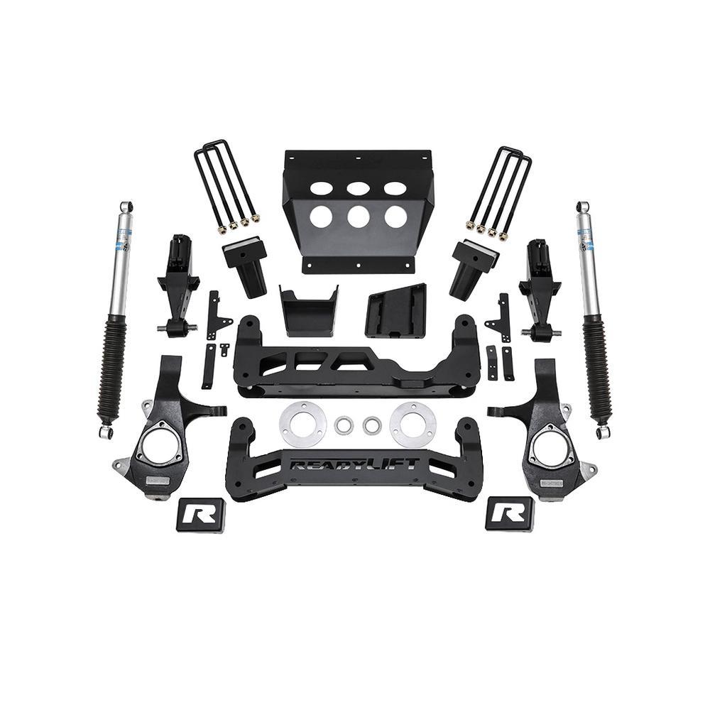 14-18 Chevrolet 1500 7in Lift Kit for Alum Upper Control Arm w/Shocks