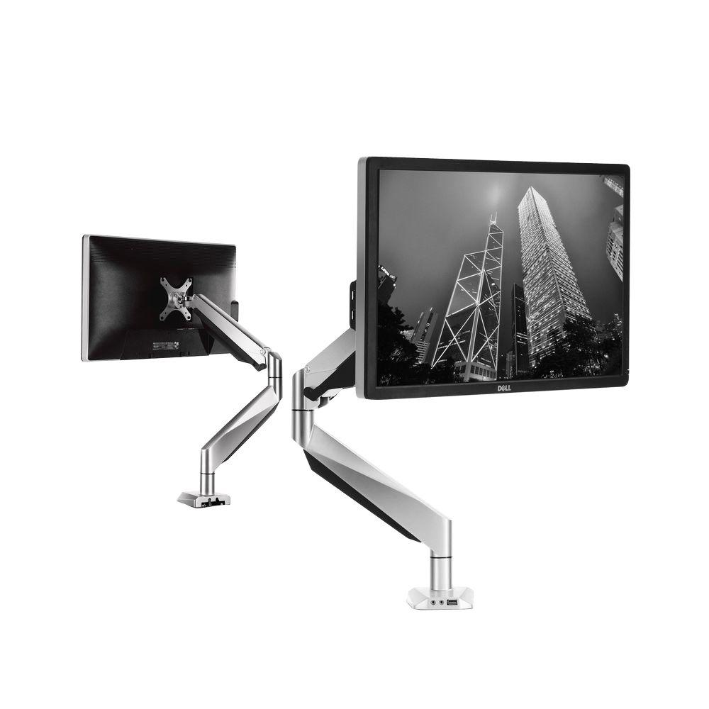 Premier Full Motion Gas Spring Single Desk Monitor Mount LCD Arm