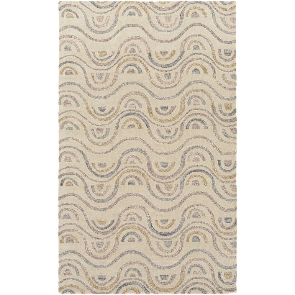 Canillo Light Gray 5 ft. x 8 ft. Indoor Area Rug