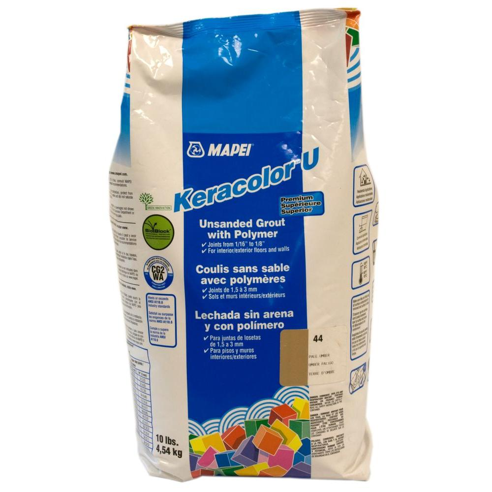 Mapei Keracolor 10 Lb Avalanche Unsanded Grout 83810