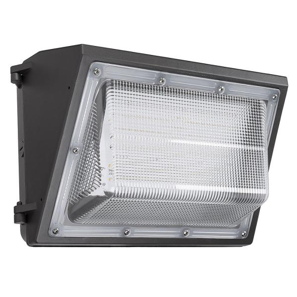 150 Watt LED Wall Pack Light Fixture Outdoor  For Commercial Buildings 120-277v