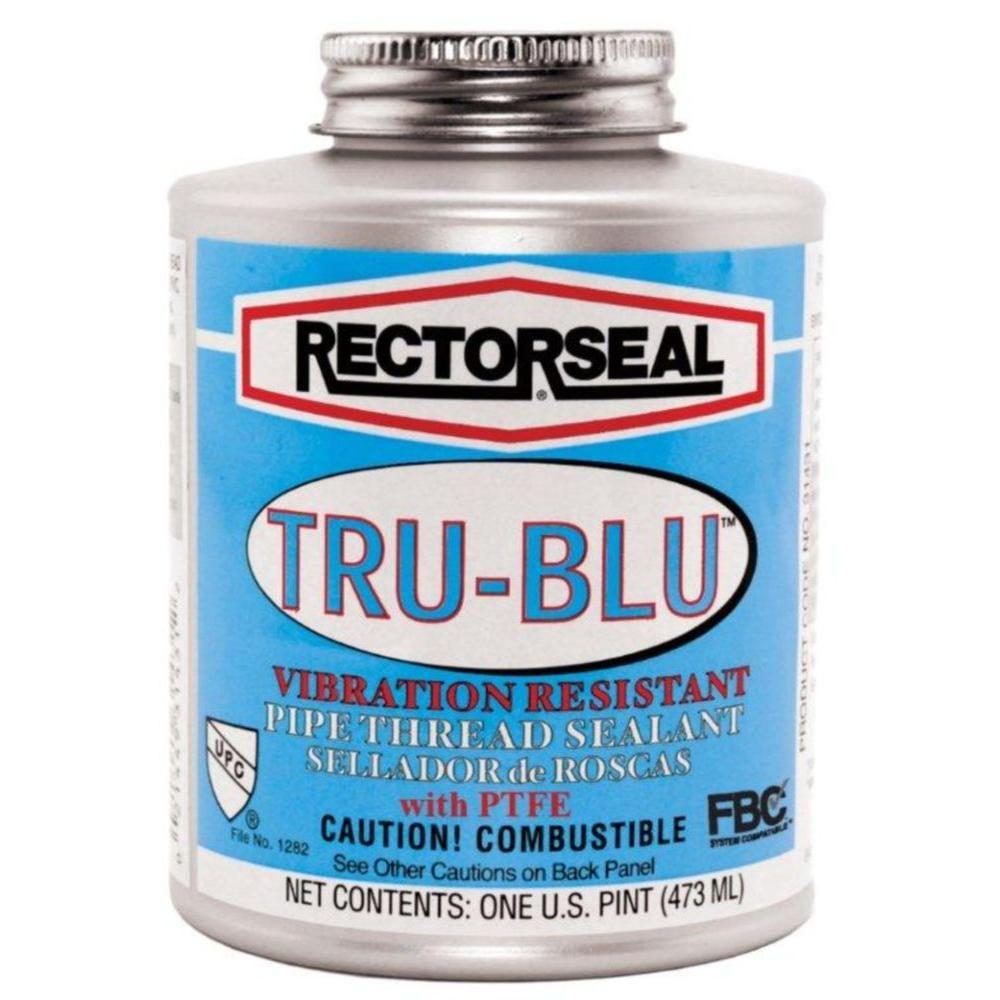 RectorSeal 4 oz  Tru-Blu Pipe Thread Sealant with PTFE