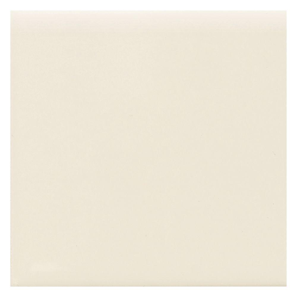 Matte Biscuit 4-1/4 in. x 4-1/4 in. Ceramic Surface Bullnose Wall
