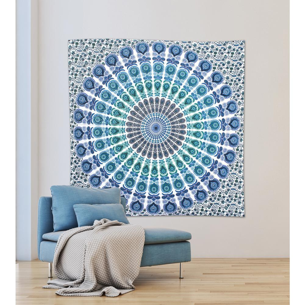WallPOPs 84.64 in. x 92.52 in. Loni Wall Tapestry-WPT2282 - The Home ...