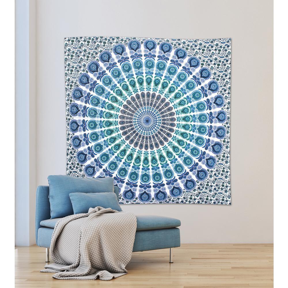 WallPOPs 84.64 inch x 92.52 inch Loni Wall Tapestry by WallPOPs