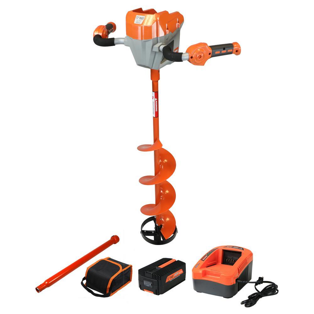 40-Volt Ice Auger Kit