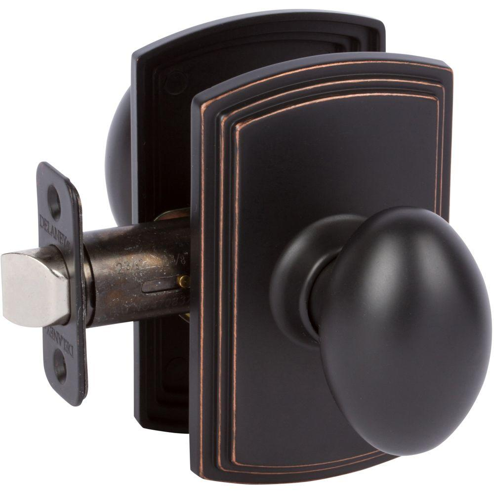 High Quality This Review Is From:Italian Collection Canova Edged Bronze Hall/Closet Door  Knob