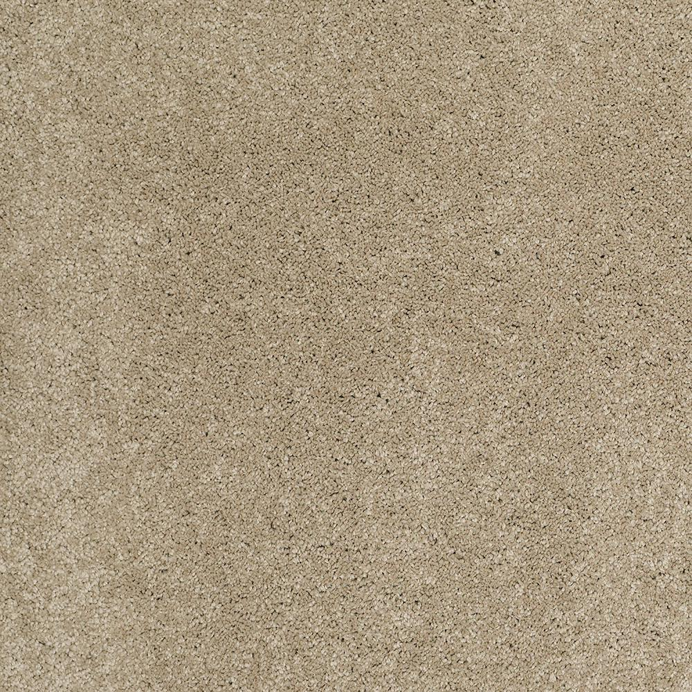 LifeProof Carpet Sample - Coral Reef I - Color Deer Field Texture 8 in. x 8 in.