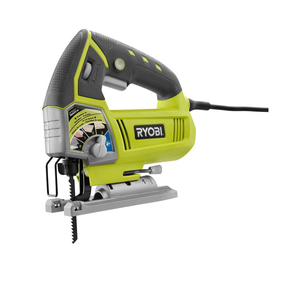 Ryobi Reconditioned 4 8 Amp Variable Speed Orbital Jig Saw