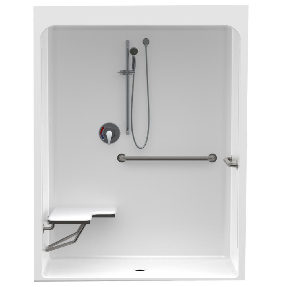 Accessible Smooth Wall Cast Acrylic ANSI Configured 60in. x 36in. x