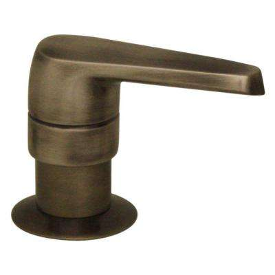 Kitchen Deck Mount Soap/Lotion Dispenser in Pewter