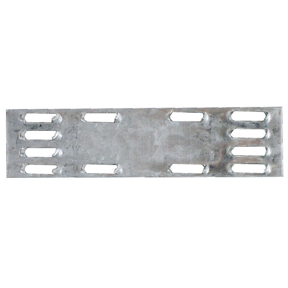 1 in. x 4 in. 20-Gauge Mending Plate