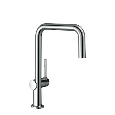 Talis N Single-Handle Pull Down Sprayer Kitchen Faucet with QuickClean in Chrome
