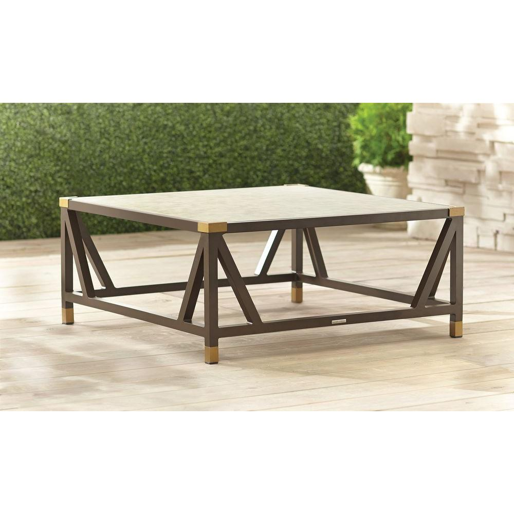 Brown Jordan Form Patio Chat Table    STOCK