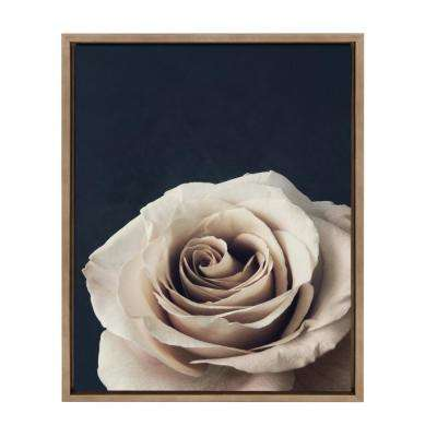 "Sylvie ""Nude Rose"" by F2 Images Framed Canvas Wall Art"