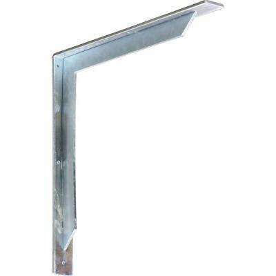 18 in. x 2 in. x 18 in. Stainless Steel Unfinished Metal Stockport Bracket