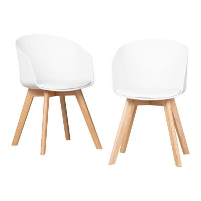 Flam White Chair (Set of 2)