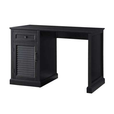 Black Chapman Side Panel Desk