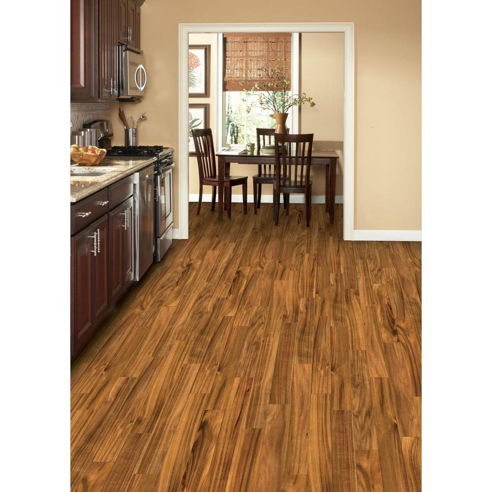 Home Legend Hand Sed Natural Acacia 3 4 In Thick X Wide Random Length Solid Hardwood Flooring 18 7 Sq Ft Case