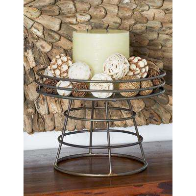 Metallics Decorative Tray Stand