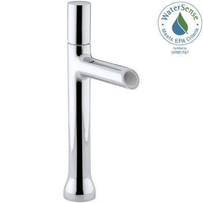 Toobi Single Hole Single Handle Water-Saving Bathroom Faucet in Polished Chrome