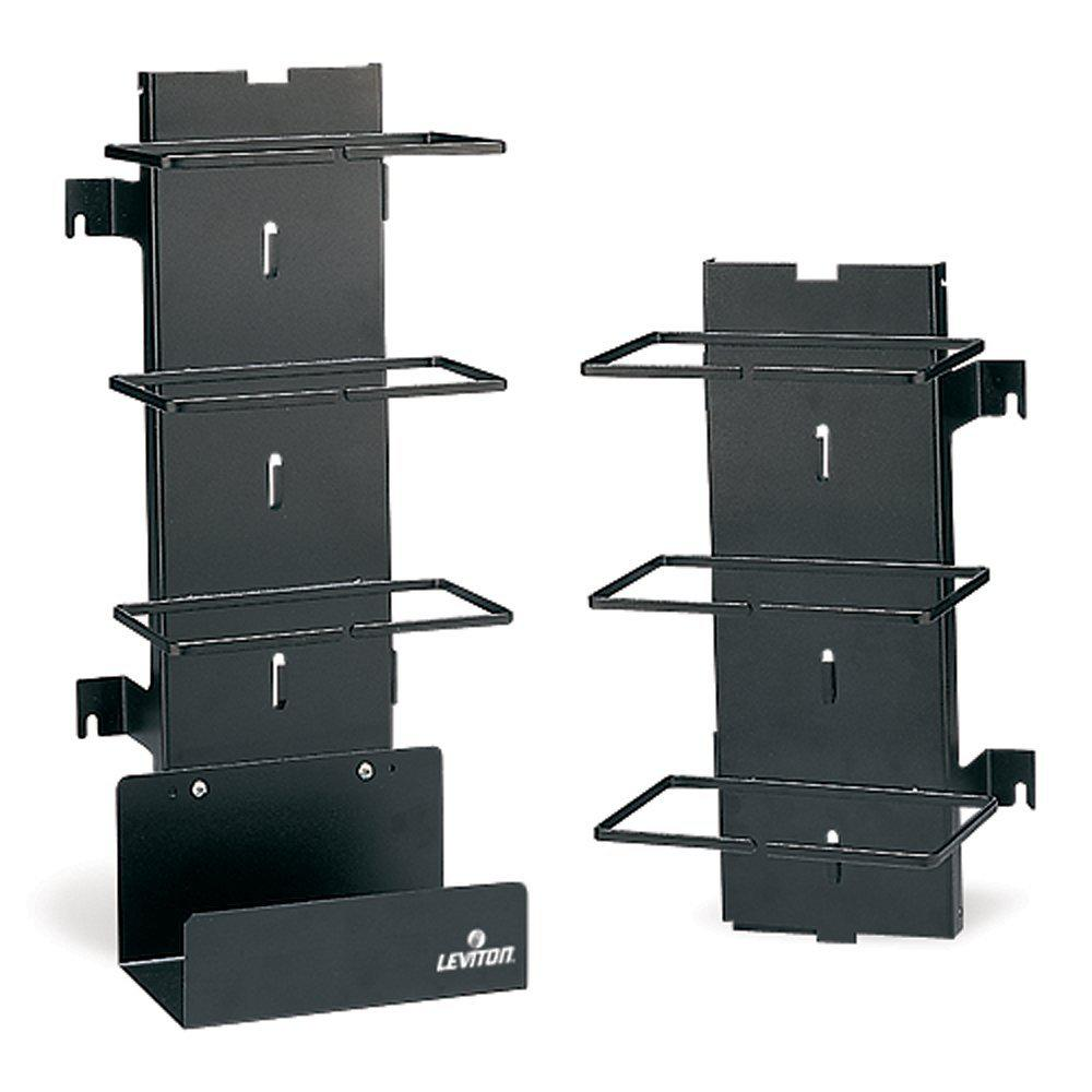 Basic Unit Includes Bottom Cable Tray Leviton 41880-300 300-Pair Vertical Cord Manager