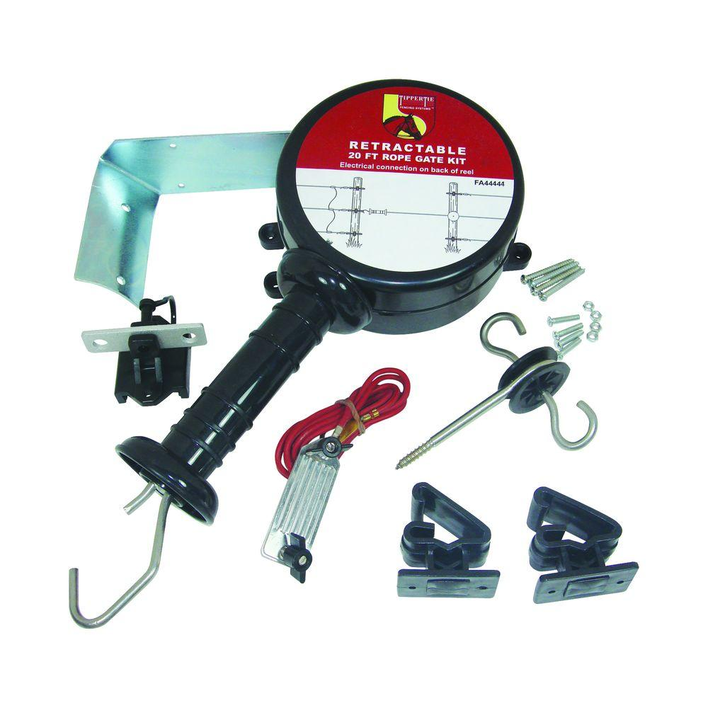 Field Guardian 20 ft. Retractable Rope Gate Kit