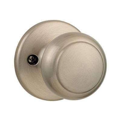 Cove Satin Nickel Half-Dummy Knob